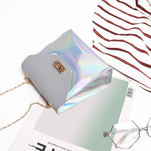 Phone Bag Gray Bag Coin Bag Crossbody Bag Bag Messenger Women Fashion Bolayu Shoulder 7qP8t