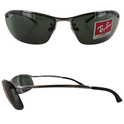 f8bda99de52a ... ireland amazon ray ban rb 3183 004 71 gunmetal sidestreet sunglasses  with apx grey green len