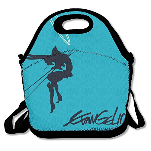 Evangelion 3.33 You Can (Not) Redo Travel Tote Lunch Bag (Christmas Misato)