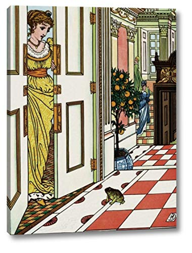 Frog Prince - Greeting The Frog by Walter Crane - 17