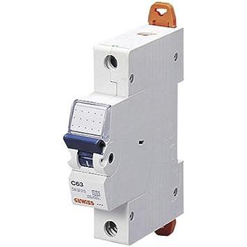 GEWISS Leitungsschutzschalter Sicherungs-automat Sicherung B 16 1polig GW 92508