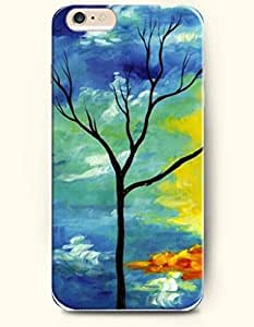 OOFIT iPhone 6 Case ( 4.7 Inches ) - a Tree-Bare of Leaves