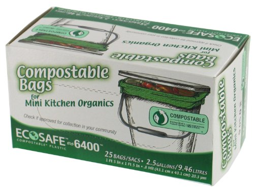Presto Products 066050 Compostable Bags - Green