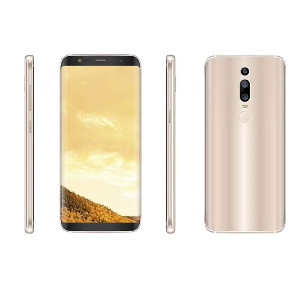 Matoen 3G Smartphone 6.0 Inch HD Screen Full Screen Dual HD Camera Smartphone Android1GB+4GB GPS 3G Call Mobile Phone US (Gold) by Matoen (Image #2)