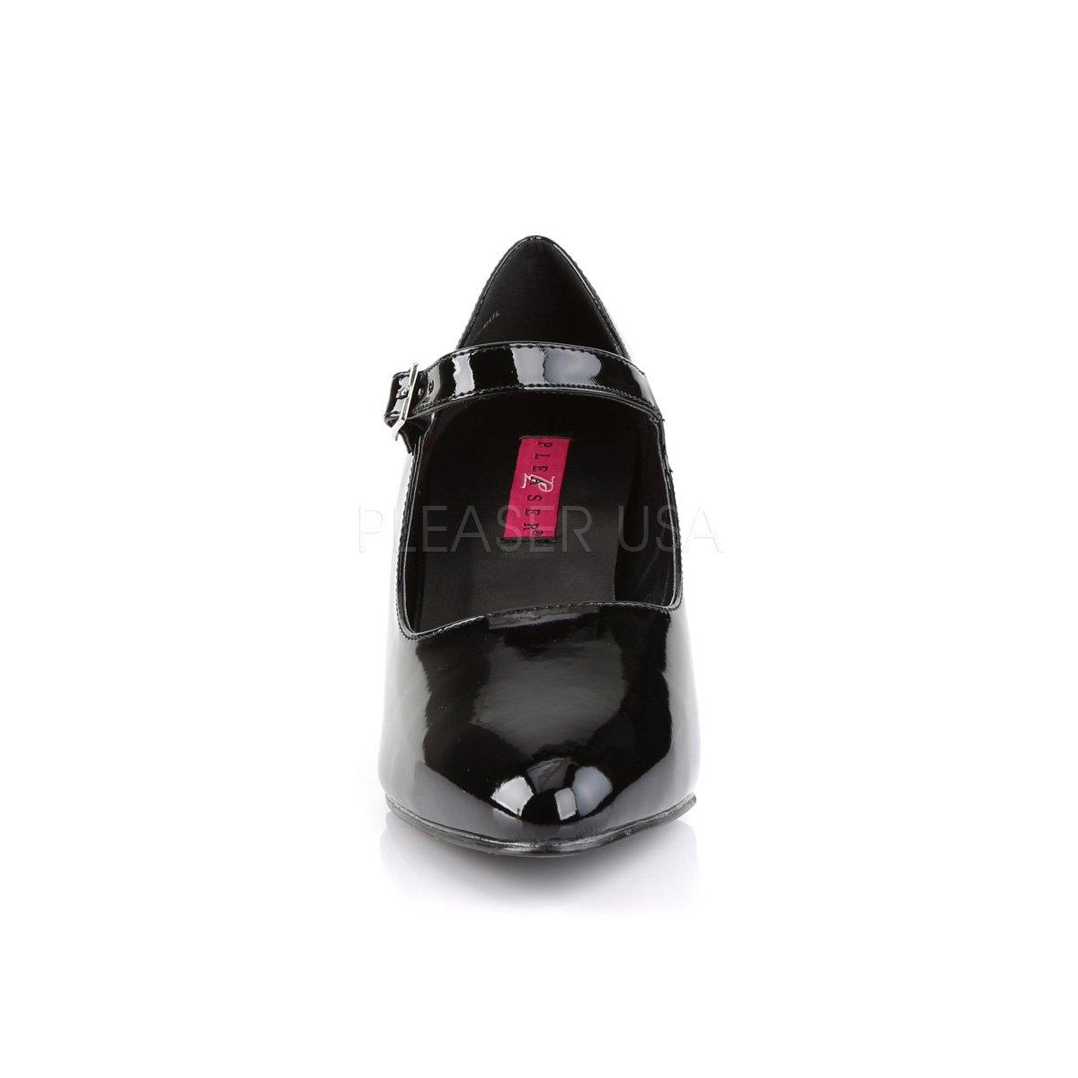 Pink Label D´Orsay Pumps Divine-440 Divine-440 Divine-440 Lack schwarz Übergrößen Big Größe Lack Schwarz e7d6bb