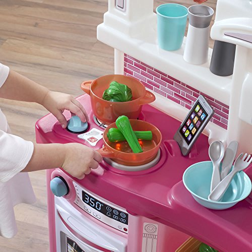 51mf4qOKOFL - Step2 488399 Fun with Friends Kids Play Kitchen, Large, Pink