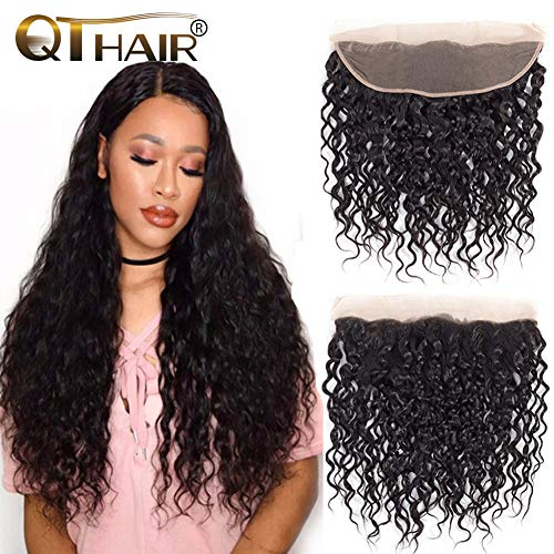 QTHAIR 10a Brazilian Water Wave Human Hair Frontal(20