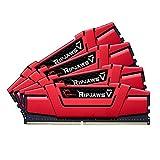 G.SKILL 32GB (4 x 8GB) Ripjaws V Series DDR4 PC4-19200 2400MHz Intel Z170 Desktop Memory Model F4-2400C15Q-32GVR