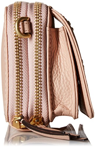 Mallory Crossbody One Bradley Pink All RFID Leather Sand Vera in AwYq5C45x