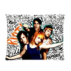 Generic Personalized Paramore Pop Punk Riot Graffiti Style Music Band Design Sold By Too Amazing Pillowcase 20x26 inches (one side)