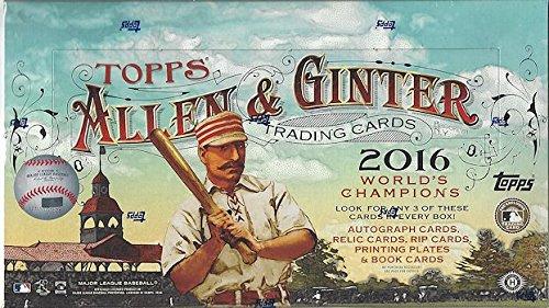 2016 Topps Allen & Ginter Baseball Hobby Box Allen Baseball