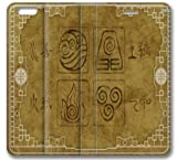 Iphone 6 case,Iphone 6 Flip Case with Avatar the Last Airbender Anime Wallpaper Design