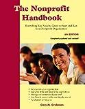The Nonprofit Handbook, Gary M. Grobman, 1929109318