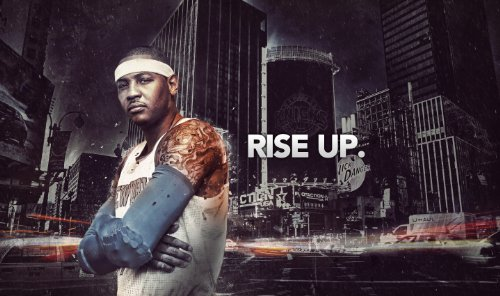 Carmelo Anthony New York Knicks Basketball Limited Print Photo Poster ()