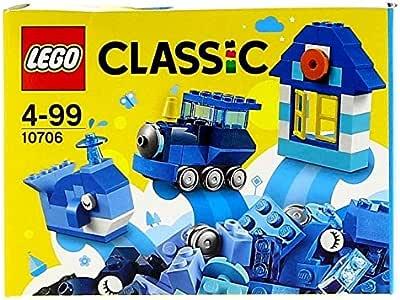LEGO Classic - Caja Creativa de Color Azul, Juguete Creativo de Construcción (10706): Amazon.es: Juguetes y juegos