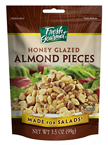 Fresh gourmet Almond Pieces, 3.5 Ounce