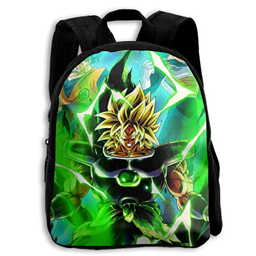 Qmad Unisex Dragon Ball Super Goku&Vegeta VS Broly Waterproof Portable Lightweight Fabrics Luggages For Training Course (Dragon Ball Z For Kinect Part 1)