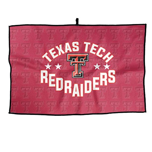 Ncaa Texas Tech Red Raiders Lady Raiders TTU Teams Logo Microfiber Golf Towel 38X60cm