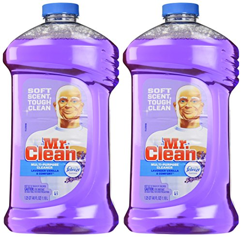 Mr. Clean with Febreze Freshness Multi-surfaces Liquid Cleaner - 40 oz - Lavender & Vanilla - 2 pk