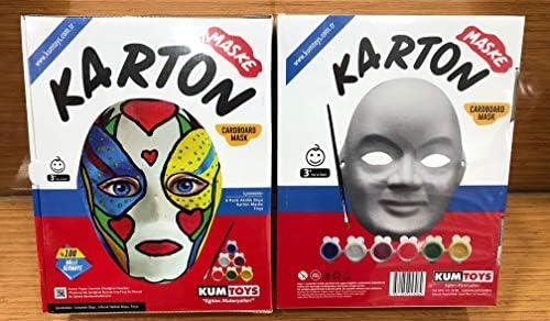 Maske Boyama Oyunu Hobi Ve Sanat Malzemeleri Amazon Com Tr