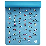 IUGA Kids Yoga Mat, Eco Friendly Yoga Mat and Yoga Towel 2 in 1, Non Slip Absorbent and Light Weight, Ideal for Hot Yoga, Bikram and Pilates