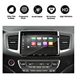 [NEWEST] 2016 2017 HONDA Pilot Ridgeline 8 inch In-Dash Screen Protector, HD Clear Tempered Glass Infotainment Navigation Screen Protective Film, Compatible with LX EX EX-L Touring Elite