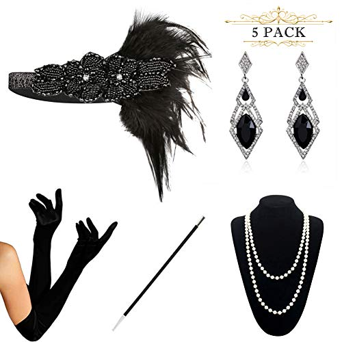HAMIST 1920s Accessories Set Flapper Costume for Women for sale  Delivered anywhere in USA