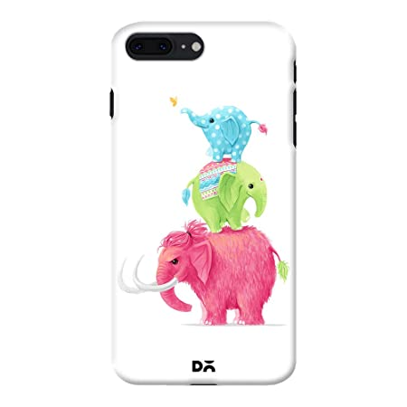 DailyObjects Mobile Back Case Cover for Apple iPhone 8 Plus Color Multicolor Mobile Phone Cases   Covers