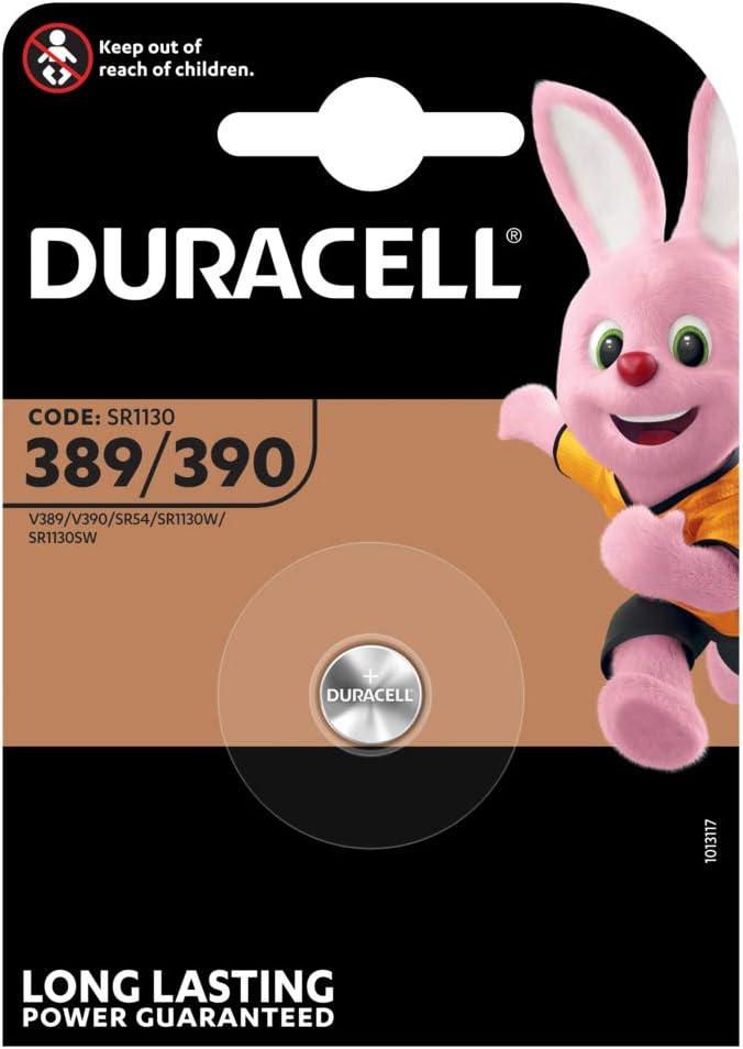 Duracell 389 390 Silberoxid 1 5 V Batterie Knopfzelle S Elektronik
