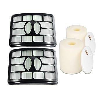 Irfora 2 Filtros de Espuma y Fieltro y 2Pcs Filtros HEPA para ...