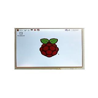 SainSmart LCD 9 digital 1024 * 600 de alta resolución de pantalla Negro verter Raspberry Pi
