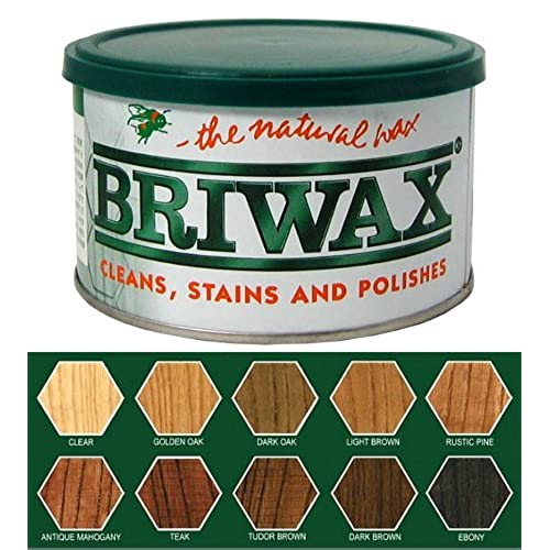Briwax Original Furniture Wax 16 Oz - Antique Mohagony - Antique Furniture Cleaning Wax: Amazon.com