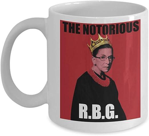 Notorious RBG 11 Oz 15 Oz Mug I DISSENT Mug Ruth Bader Ginsburg Mug