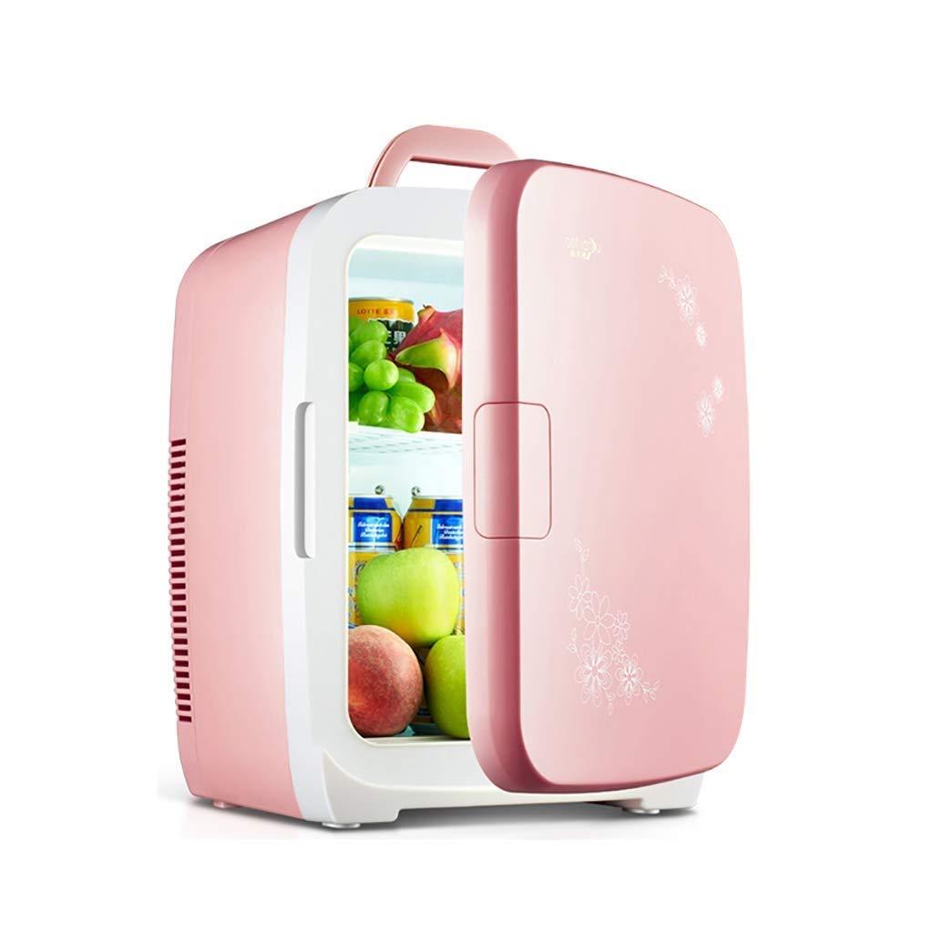 RMXMY Portable Mini car Refrigerator Cosmetics Home Dual-use Summer Small Refrigerator Student Refrigeration Out Breast Milk Storage Single (Color : B)
