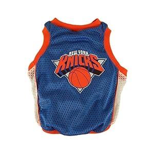 NBA New York Knicks Basketball Dog Jersey, Medium