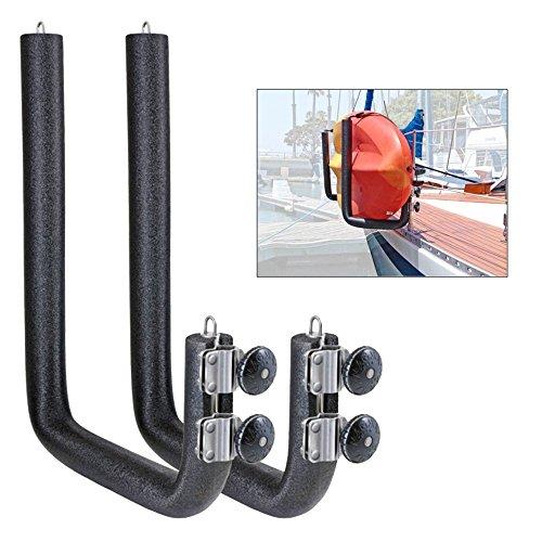 Magma Removable Rail Mounted Kayak/SUP Rack - Wide - 20'' by Magma