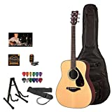 Yamaha FS800 Acoustic-Electric Guitar with Gig Bag & Accessories