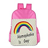 Fuatter Homophobia is Gay Children Carrying Backpacks