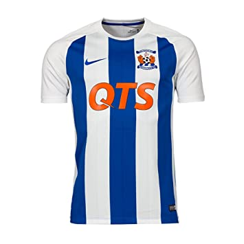43537639e Nike 2017-2018 Kilmarnock Home Football Soccer T-Shirt  Amazon.co.uk   Sports   Outdoors