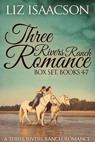 Three Rivers Ranch Romance Box Set, Books 4 - 7: Fifth Generation Cowboy, Sixth Street Love Affair, The Seventh Sergeant, and Eight Second Ride by [Isaacson, Liz, Johnson,Elana]