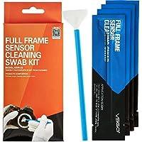 VSGO Full Frame DSLR SLR Camera Sensor Cleaning Swab Kit DDR-23 for Nikon Canon Digital Camera (Box of 10 X 24mm Swab)