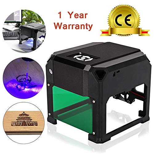 Cheap TopDirect 3000mW Laser Engraving Machine Mini Laser Engraver Printer CE Approved Working Area 7.5X7.5CM for DIY Logo Marking with CERTIFICATION