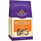 Old Mother Hubbard Crunchy Classic Natural Dog Treats, Bac'N'Cheez, Small Biscuits, 20-Ounce Bag/2PK Larger Image