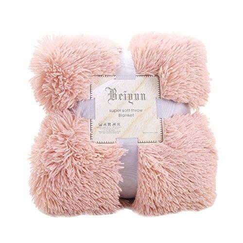 laamei Manta Suave de Sofa y Cama Manta Reversible Calida con Tacto de Terciopelo para Sofa o Cama Pelucha Manta Resistente a Las Arrugas para Adultos y Infantiles