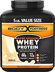 Body Fortress Super Advanced Whey Protein is the ideal post-workout protein supplement featuring 100% Premium Whey enhanced with Creatine and other critical Amino Acids. For adults, add one (1) scoop to 6-8 ounces or two (2) scoops to 14-16 o...