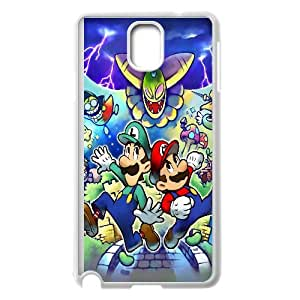 Luigi And Mario Game Samsung Galaxy Note 3 Cell Phone Case White yyfabc-518776