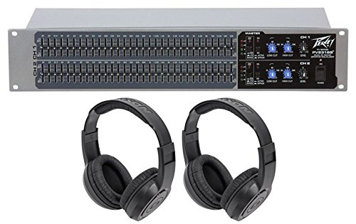 Peavey PV231EQ 31-Band Graphic Equalizer PV 231EQ + (2) Headphones by Unknown