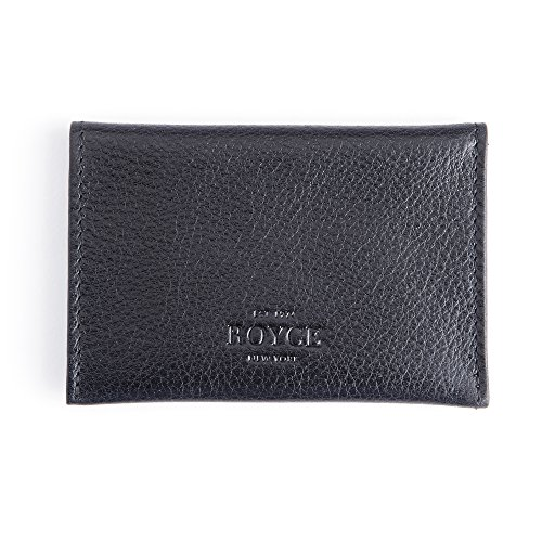 Genuine Envelope BLACK Card Leather Case Genuine BLACK Envelope Case Leather Card Genuine 5qU4aFq