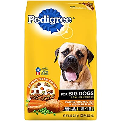PEDIGREE Adult Roasted Chicken, Rice & Vegetable Flavor Dry Dog Food