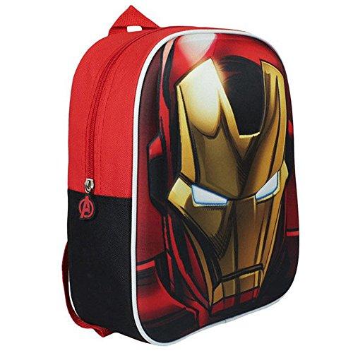 Avengers ,  Kinder Kinderrucksack Rojo 31 cm